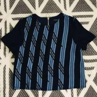 Something Borrowed Woven Top
