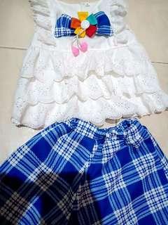 Baju bayi mewah 3-9bulan like new