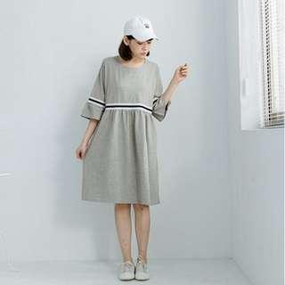 Queen Shop Grey Dress