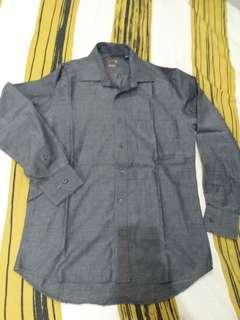 Wood grey shirt size 15