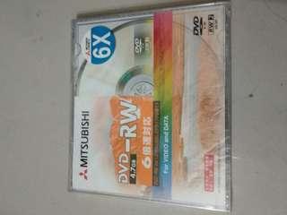 🚚 DVD-RW 燒錄可複寫片
