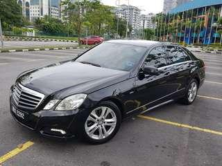 Kereta Sewa Mercedes E250