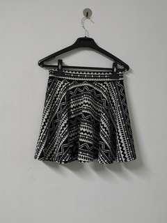 Printed Skirt #MFEB20