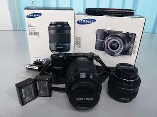 Samsung NX1000 with 2 Lens