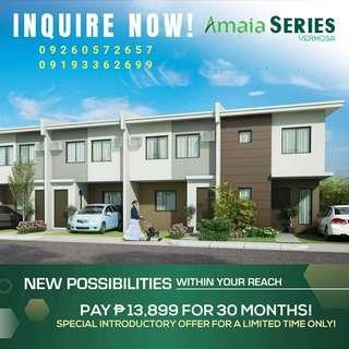 Amaia Vermosa Townhouse Imus Cavite