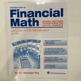 [BN] Introduction to Financial Math