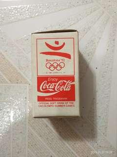 1992年 絕版可口可樂 玻璃杯
