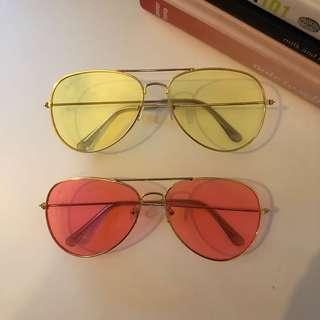 TINTED SUNGLASSES 2 for 1
