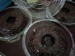 Kek coklat moist 6'
