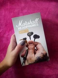 Black Marshall Earphones (Negotiable)