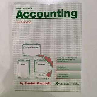 [BN] Introduction to Accounting for Finance