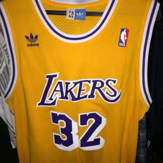 351a400d081 Bootleg Vintage Lakers (Magic Johnson) Jersey