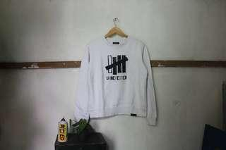 Undefeated sweater white Original