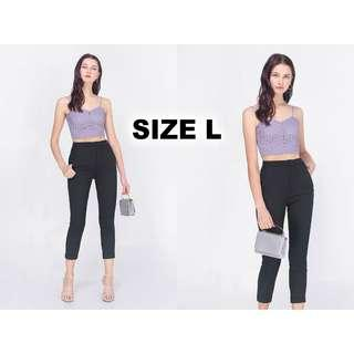 🚚 BNWT Fayth Citizens High Waisted Pants in Black