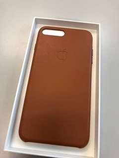 IPhone 7 Plus / 8 Plus 原廠機皮套,接近全新,連原裝盒