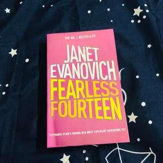 English Novel- Fearless Fourteen by Janet Evanovich