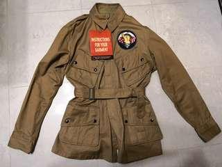 <激罕>軍迷必追 The Real Mccoy jumper jacket 傘兵服 wwii ww2 Size 40R