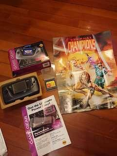 SEGA Game Gear 世嘉遊戲機 連 遊戲帶