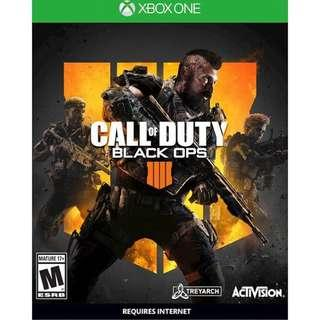 Xbox one call of duty 4