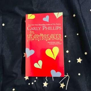 English Novel - The Heartbreaker by Carly Phillips