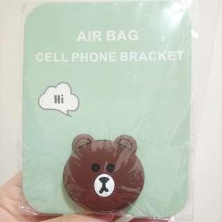 Line 熊大 Brown 手機支架 手機托