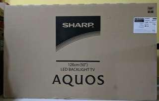 SHARP 50 SMART TV BARU