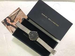 Daniel Wellington Silver Bracelet Watch