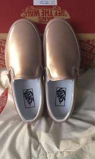 Vans Rose Gold Slipons