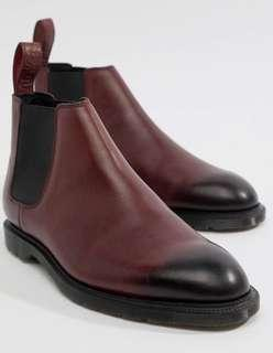Dr. Martens Chelsea Boots in Cherry Red UK6.5