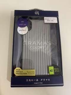 iPhone X XS Gramas Rib Hybrid Case