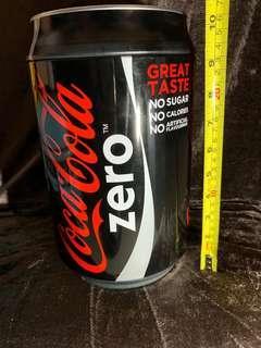 可口可樂 Coca-Cola Zero 儲物罐 巨型 全新 清屋 10寸