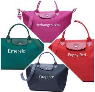 72f74a4114 longchamp medium red | Women's Fashion | Carousell Singapore
