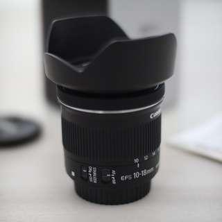 Canon 10-18mm IS STM [Mint]