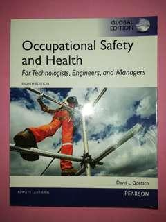 Occupational Safety and Health (Eight Edition)