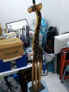 Wooden girafe