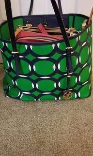 Michael kors carryall tote bag