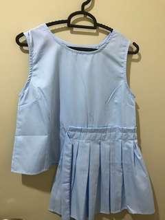 (Preloved) blue top
