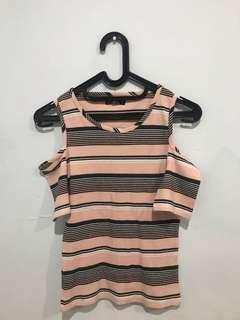 Cotton On Pink Stripe shirt