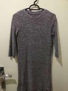 (Preloved) knit dress
