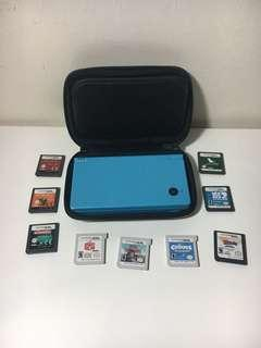 Nintendo DSi blue / DS 3DS games