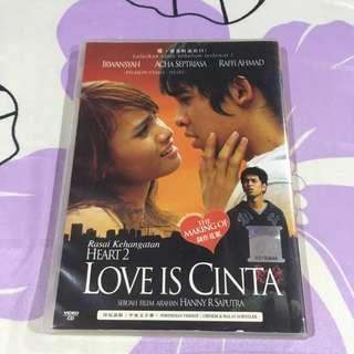 Love Is Cinta (Heart 2) Movie VCD