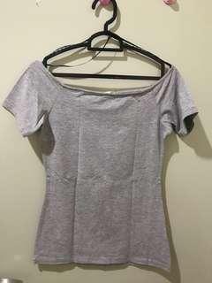 (Preloved) grey top