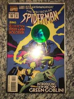 BNIB Spider-Man hologram comic book#3