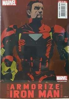Sentinel armorize ironman metallic version