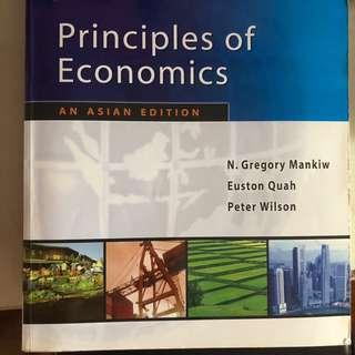 Principles of Economics; An Asian Edition By N. Gregory Mankiw, Euston Quah And Peter Wilson