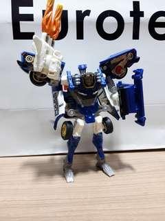 Transformers car brothers super version mach alert prowl