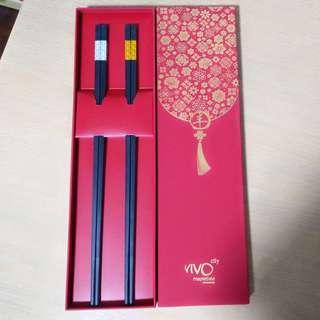 Vivo City CNY Long chopsticks for lohei yusheng