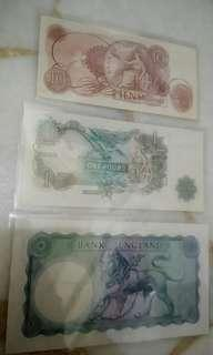 England old banknotes