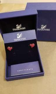 Swarovski Earrings 原裝正貨有packing