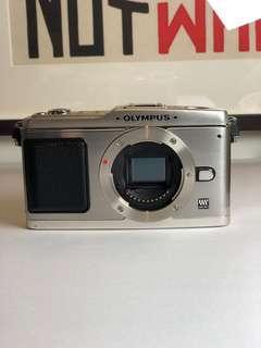 Olympus E-P1 Body + 14-42mm, 3.5-5.6 lens + Zuiko 45mm, 1.8 Lens
